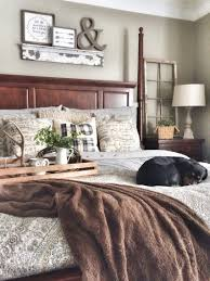 mix of grey and brown with a little touch of rustic bedroom mix of grey and brown with a little touch of rustic bedroom