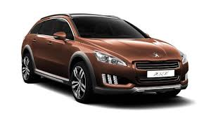 peugeot electric car peugeot 508 rxh diesel electric hybrid revealed