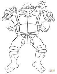 teenage mutant ninja turtles color pages pertaining to inspire to