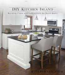 How To Install Kitchen Island by Build A Diy Kitchen Island U2039 Build Basic
