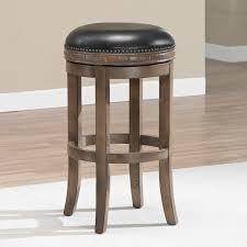 leather saddle bar stools furniture backless bar stools pottery barn backless bar stool