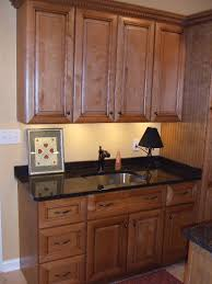 Maple Kitchen Cabinets Paint Glazed Kitchen Cabinets With White And Brown U2014 Decor Trends
