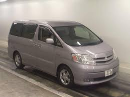 toyota alphard 2 4 2004 auto images and specification