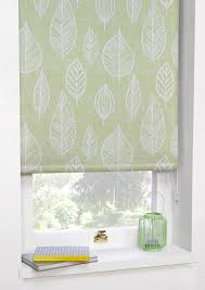 ready made window blinds printed blackout roller blinds vermont green art deco ready made