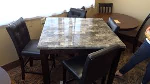 ashley furniture maysville dining table set d154 review youtube