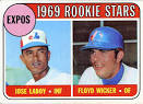 524 Jose Laboy, Floyd Wicker - 524-jose-laboy-floyd-wicker-1969-rookie-stars