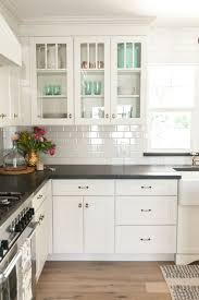 inspiring kitchen cabinet trends 2017 organizers black white base