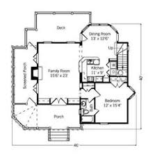 Small Cottage Floor Plan Small Cottage Plans Farmhouse Style 1000sqft Footprint