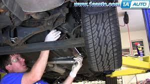 lexus rx330 catalytic converter replacement how to install replace tail pipe and muffler 2000 03 nissan maxima