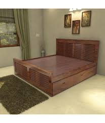 Cheap King Size Bed Sheets Online India Universal Doors Solid Wood King Size Storage Bed Buy Universal