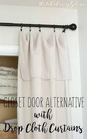 best 25 closet door curtains ideas on pinterest closet door