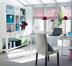 home office decorating ideas with white interior theme color