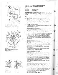 bosch diesel pump repair manual timing how do you set the pump timing on a volvo td63 es