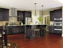 furniture fascinating aristokraft cabinet review make kitchen winsome dark wood aristokraft cabinets review cool combined with white quartz countertop and brown smart tile