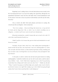 autobiography essay examples example college essays Autobiography essay example for college