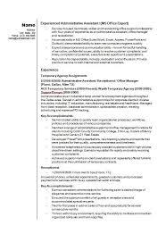 Breakupus Marvelous Admin Resume Examples Admin Sample Resumes     Jeens net