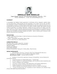 Professional Profile On Resume Glamorous How To Write A Personal Profile Example Of Customer