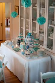 Boy Baby Shower Centerpieces by 124 Best Tiffany Blue Baby Shower Images On Pinterest Tiffany