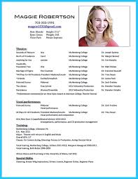 theatrical resume template template for acting resume free resume example and writing download cool outstanding acting resume sample to get job soon