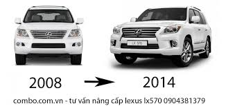 gia xe lexus sc430 độ xe lexus lx570 2008 lên 2014 độ lexus lx570 conversion lx570