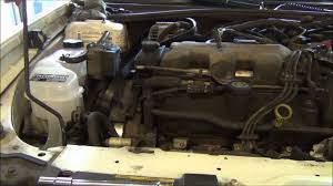 2002 chevy malibu intake manifold gasket repair part 1 of 2 youtube