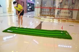 Backyard Golf Hole by Aliexpress Com Buy Golf Mat 75x300cm Indoor Training Putting Pad