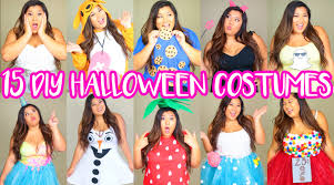 15 diy halloween costumes last minute cute u0026 easy youtube