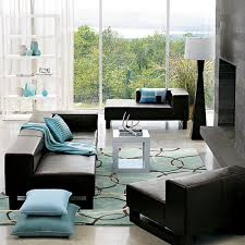 Turquoise And Green Lounge Room Ideas Black Furniture Living Room Decorating Ideas Creditrestore Inside