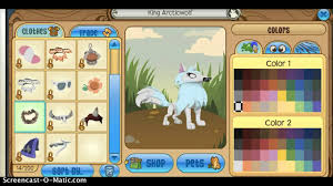 how to get the icy blue color on animal jam youtube