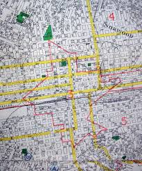 Zip Code Map Of Los Angeles by Old Maps American Cities In Decades Past Warning Large Images