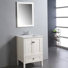 Modern Walnut Bathroom Vanity by Simpli Home Chelsea 24 In Single Bathroom Vanity Hayneedle