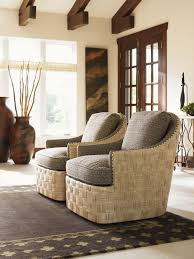 Upholstered Swivel Chairs Lexington Upholstery Byron Bay Swivel Chair Lexington Home Brands