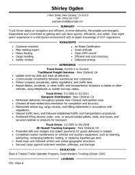 Resume Sample For Long Term Employment by 12 Amazing Transportation Resume Examples Livecareer