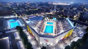 here u0027s how expo park u0027s coliseum would be transformed for the