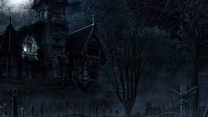 halloween background 1366x768 halloween haunted house widescreen wallpaper wide wallpapers net