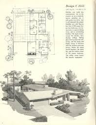 Eichler Homes Floor Plans Mid Century Modern Ranch House Floor Plans Hahnow