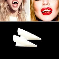 aliexpress com buy horrific 4 pcs dress vampire teeth halloween