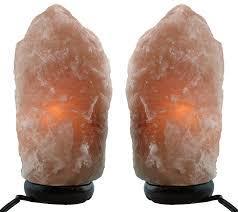 Himalayan Salt Light by Amazon Com Himalayan Natural Salt Lamp Two Pack Multiple Sizes