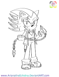 super sonic coloring pages oc chief shadow coloring pg by arianatheechidna on deviantart