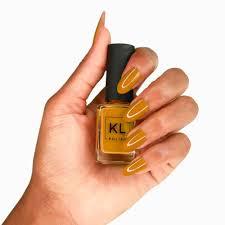 caramello mustard pumpkin nail polish u2013 kl polish