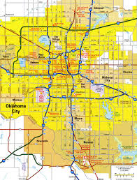 Oklahoma City Map Oklahoma City