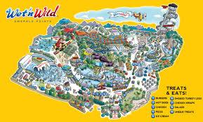 Map Of Waikiki Park Map Wet U0027n Wild