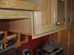 Molding On Kitchen Cabinets Installing Molding For Under Cabinet Lighting A Concord Carpenter
