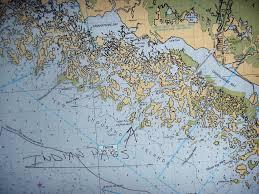 Thousand Islands Map Sailing South On Carina Bad Sailing Weather