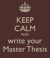 Master thesis what is it FC