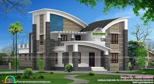 January  Kerala Home Design And Floor Plans - Modern style homes design