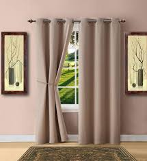 Blackout Curtain Panels Warm Home Designs Taupe Blackout Curtains Valance Scarves Tie