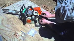 stihl ms170 chainsaw throttle trigger repair youtube