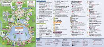 Printable Map Of Disney World The 2017 Epcot International Food U0026 Wine Festival Guidemap Is Here