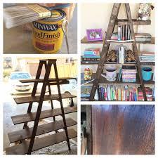 easy a frame ladder bookshelf the wife in training